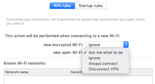 automatic wifi protection